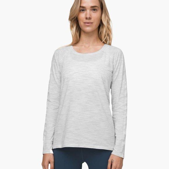 Size 8 - Lululemon Sweat Embrace Long Sleeve
